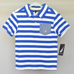 NWT Nautical Boys' 2T Striped Polo
